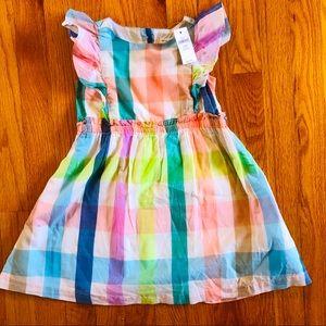 NWT BabyGAP Plaid Dress - size 4T